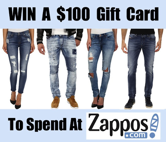 WIN a $100 Denim Gift Card For Zappos!