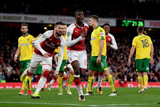 Arsenal 2 – 1 Norwich City (EFL Cup 2017/2018: Soccer Highlights) - Trackgist