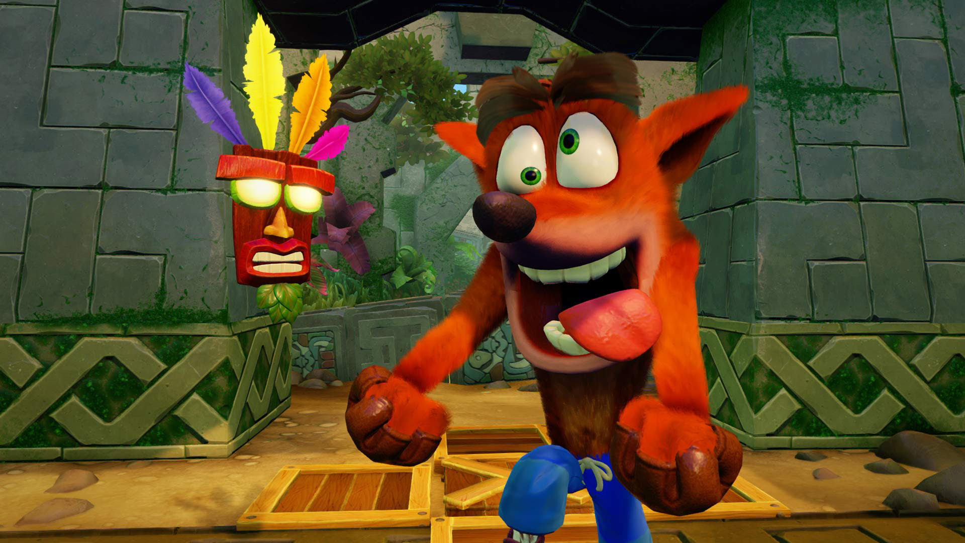 Watching this Crash Bandicoot N. Sane Trilogy trailer brings back memories screenshot