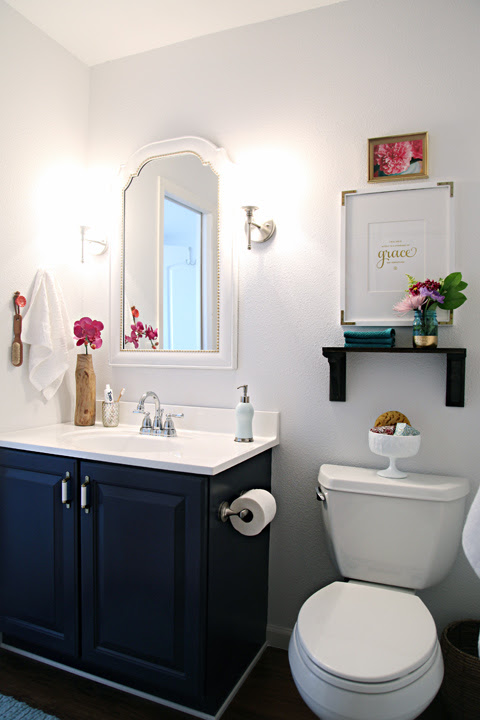 Remodelaholic | Best Colors For Your Home: Navy Blue