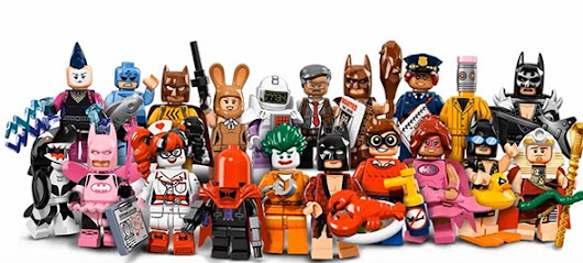 Lego 20 Minifigures Batman Series - From Least to Most Favorite
