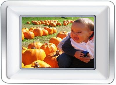 Coby Dp 772 Widescreen Digital Photo Frame 7 Inches With Mp3 Player
