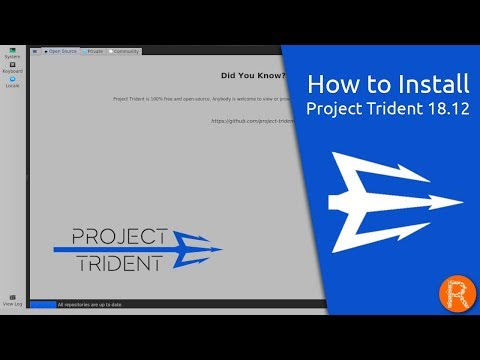 How to Install Project Trident 18.12