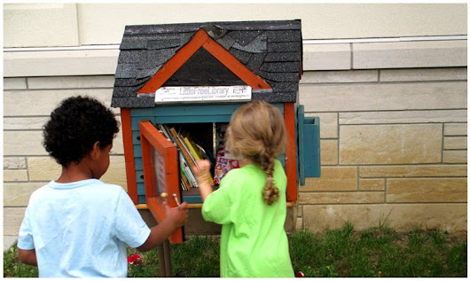 A campaign to place Little Free Libraries in police departments