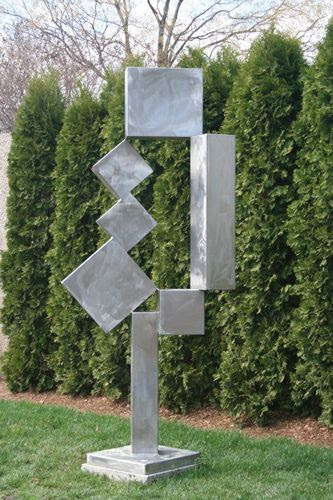 "David Smith's ""Cubi XII"" at the Hirshhorn Museum Sculpture Garden, Washington, DC by Peter Michel, via Flickr"
