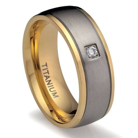 2019 Popular Cool Wedding Bands For Guys