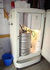 Inside of coolest fridge ever