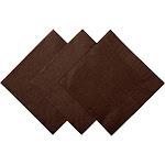 Chocolate Brown Beverage Napkins, Pack of 200