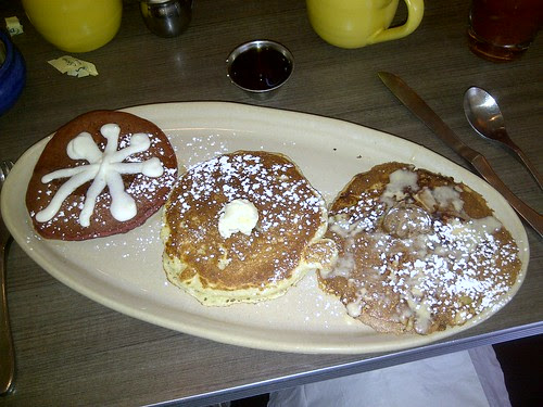 Pancakes at Snooze