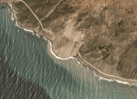 A Landslide in California with Planet Imagery - Google Earth Blog