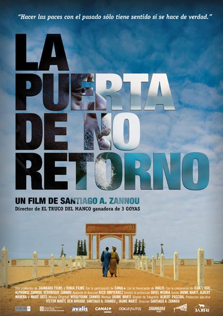 Póster: La puerta de no retorno (Santiago A. Zannou, 2.011)