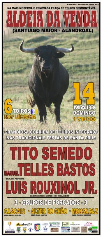 14-5-2017 Corrida de Toiros na Aldeia da Venda