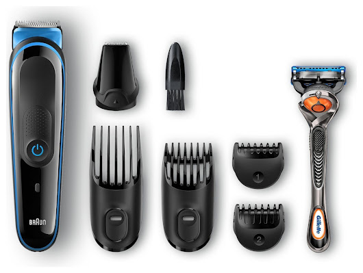 Technology: Braun 7-in-1 Multi Grooming Kit