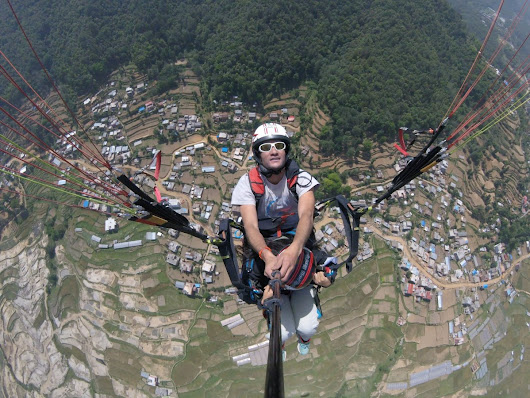 Is paragliding scary?