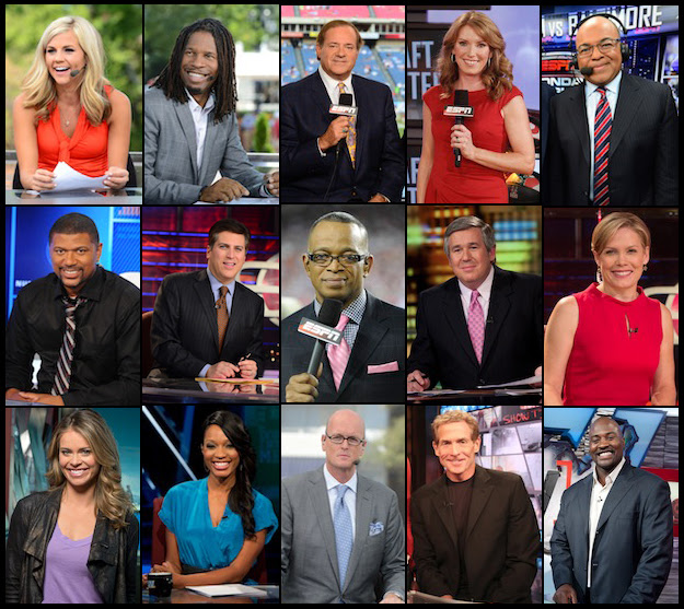 Espn S Talent Department Shows The Knack For Spotting Training And Keeping Talent Espn Front Row