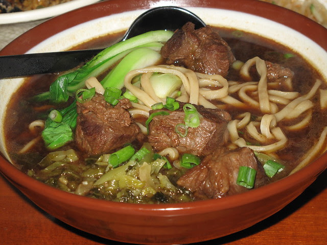 House special beef noodle soup - 牛肉麵