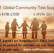 """Support Is Only A Phone Call Away""  C. diff. Global Community Tele-Support Program"