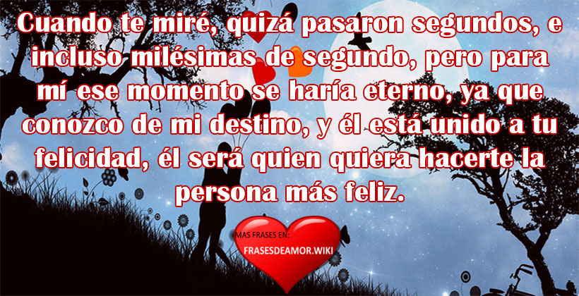 Mensajes Y Frases De Amor A Primera Vista Frasesdeamor Wiki
