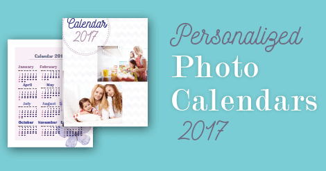 Personalized Photo Calendars 2017 - AmoyShare
