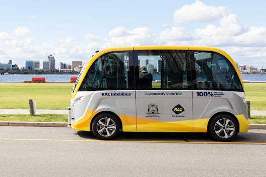 Perth to host driverless-car trial