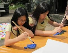 Girls Fish Painting