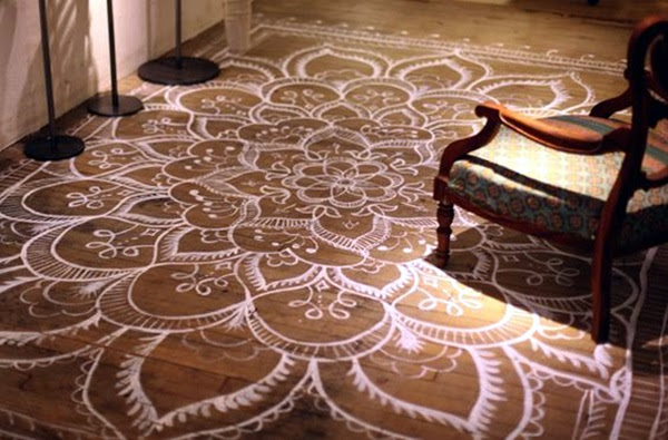 Creative Wood Floor Paint Decoration Art Works (24)