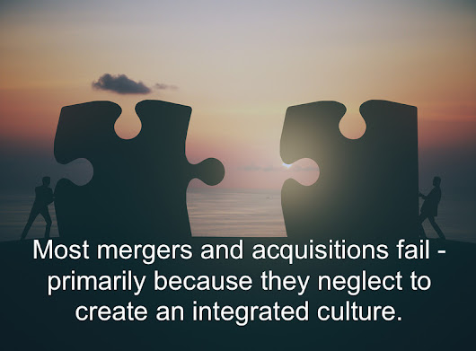 The Case for Culture Integration in Mergers and Acquisitions | Jesse Lyn Stoner