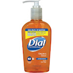 Dial DIA84014CT Gold Floral Fragrance Antimicrobial Soap - 7.5 oz.