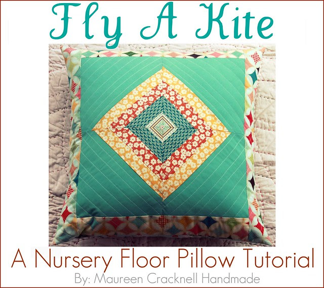 Fly A Kite Nursery Floor Pillow Tutorial