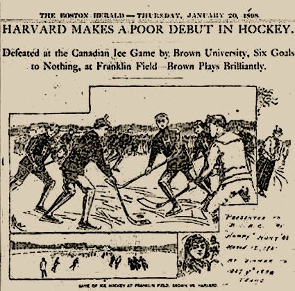 Brown vs Harvard 1/19/1898, Brown vs Harvard 1/19/1898