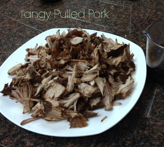 Tangy Slow Cooker Pork