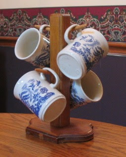 A mug tree is useful for more than simply displaying mugs.