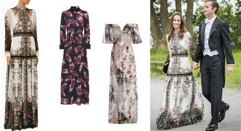These gúnas are the double of Pippa's beautiful boho Erdem