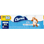 Charmin Ultra Soft Toilet Paper, Mega Rolls - 20 count