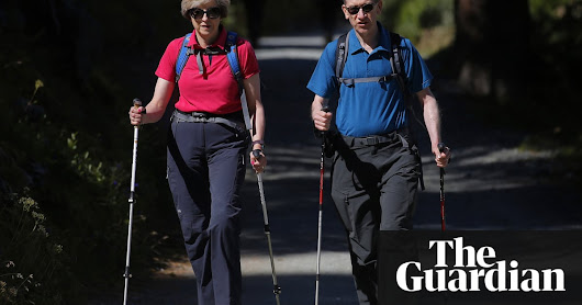 People not getting enough exercise from long walks – report | Life and style | The Guardian