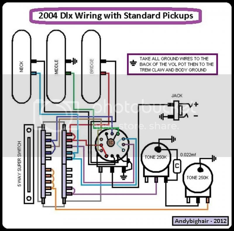 Fender Telecaster 4 Way Switch Wiring Diagram