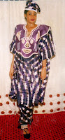Stunning pharoah caftan and pants from Africa Styles