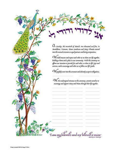 Custom Print Ketubah: Order form, Customer Information and