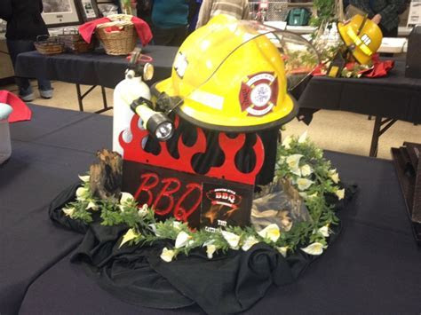 Firemans ball catering job! A centerpiece for the buffet