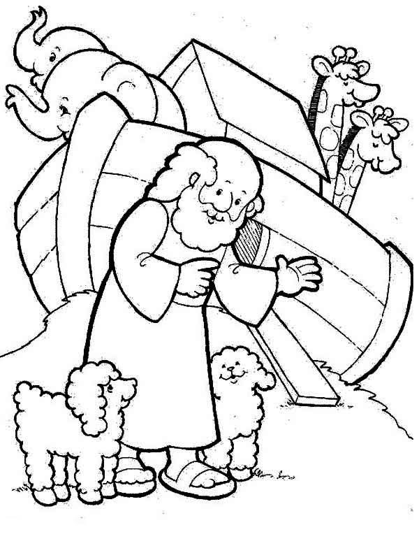 Noahs Ark Printable Coloring Pages at GetColorings.com ...