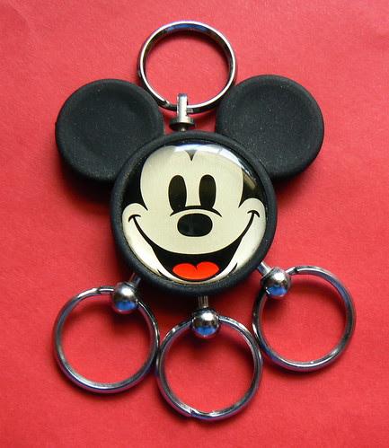 Mickey Key-Ring