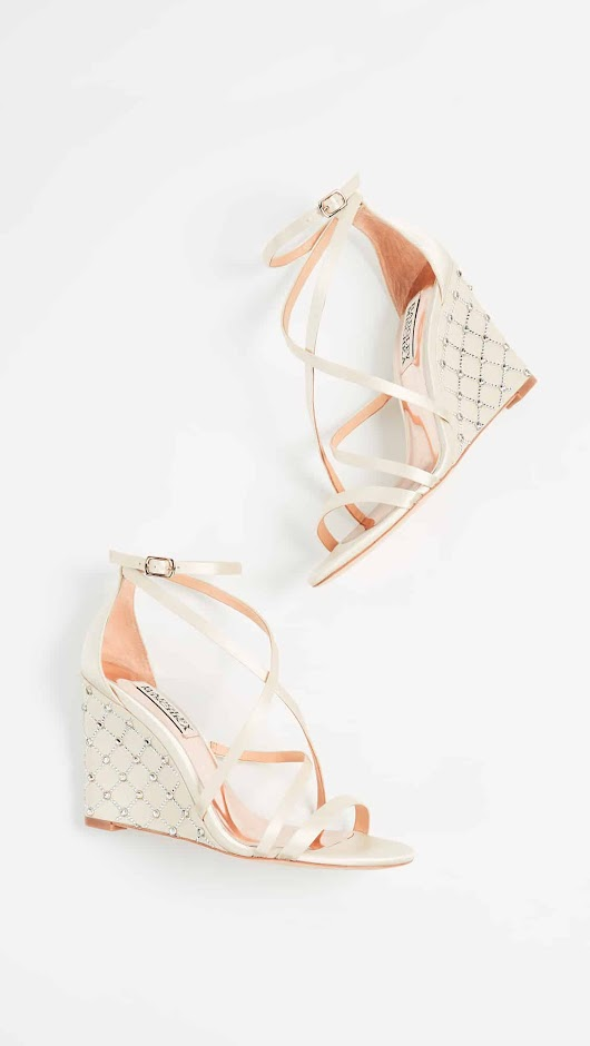 Wedge Wedding Shoes and Sandals | Dress for the Wedding