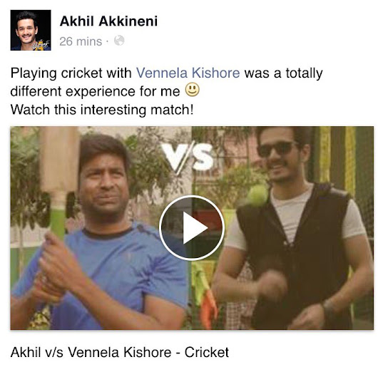 JUA Vs Kaise HUA CCL Vs IPL  AkhilAkkineni8 Vs  Vennelakishore  Https   T Co 0u6FSlvQcJ  AkhilOnNov11 Https   T Co BCfIZXB7ud-Vennela Kishore Twitter Photos#