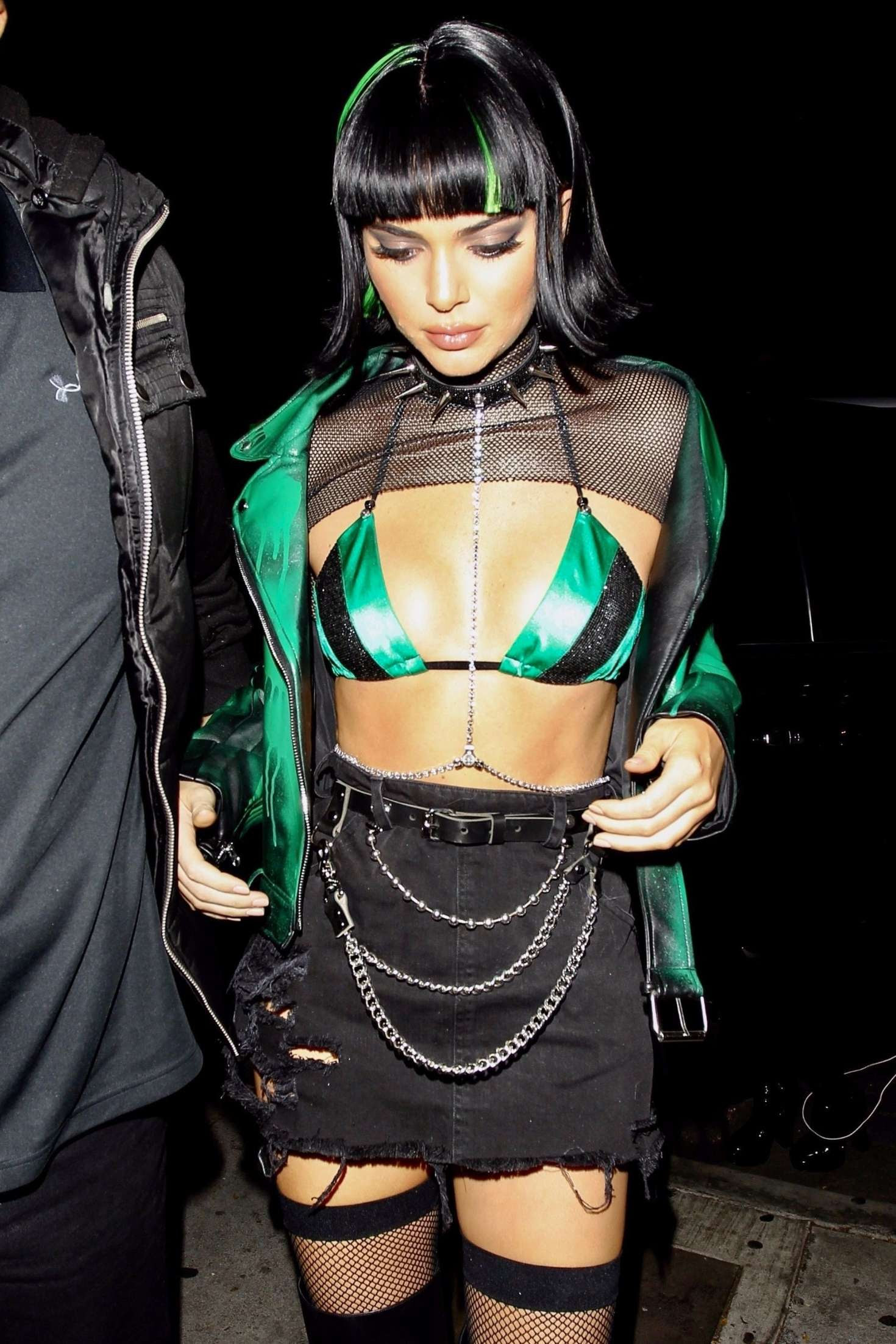 Kendall Jenner – Halloween party at Delilah in West Hollywood