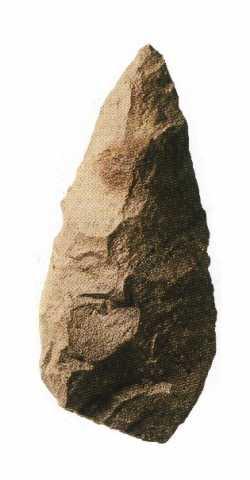 Biface acheuléen (Tihodaïne)