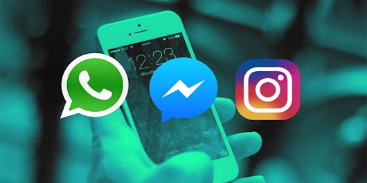 Facebook to Merge WhatsApp Messenger and Instagram Messaging | Maza Inside