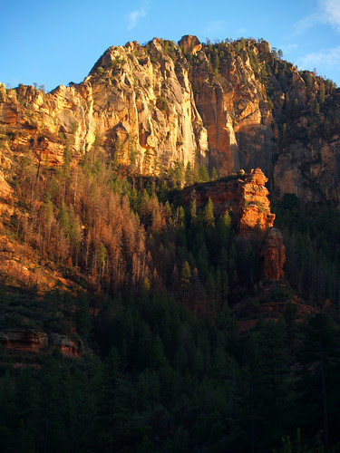 Mountains over Slide Rock State Park