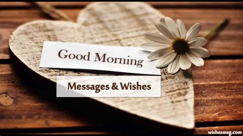 Good Morning Messages, Wishes and Quotes   WishesMsg