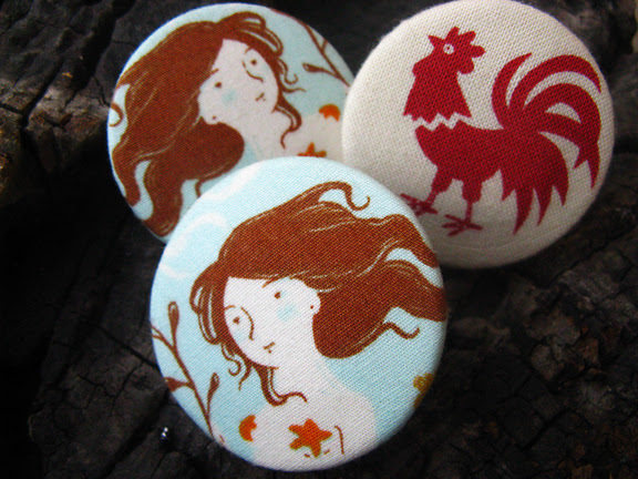 mermaids brooches