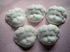 New: China Doll Heads! Un-finished!